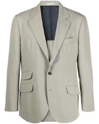 Brunello Cucinelli Triple Flap Pocket Single Breasted Blazer