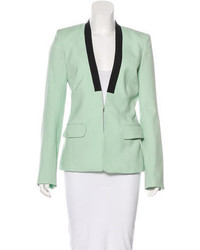 Wool hook and eye blazer medium 3803594