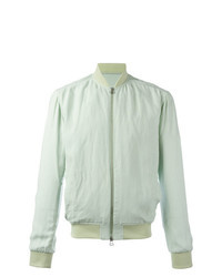 Mint Bomber Jacket