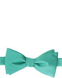 Stafford Stafford Satin Solid Self Tie Bow Tie