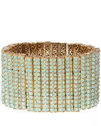 jcpenney Fine Jewelry Rodrigo Brave Opalescent Mint Crystal Bracelet