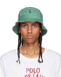 Polo Ralph Lauren Green Cotton Bucket Hat