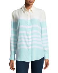Mint button down blouse original 4300043