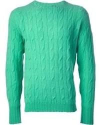 Drumohr vintage cable knit jumper medium 105906