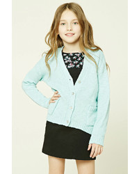 Forever 21 Girls Purl Knit Cardigan