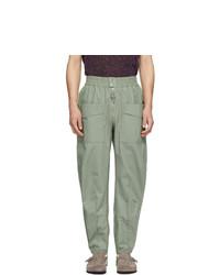 Isabel Marant Green Tilsen Cargo Pants