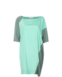 Colour block t shirt dress medium 7554429