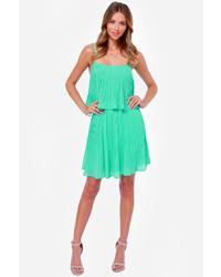 LuLu*s Lulus As You Swish Pleated Mint Green Dress   Where to buy ...