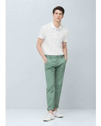 Mango Outlet Gart Dyed Cotton Chinos