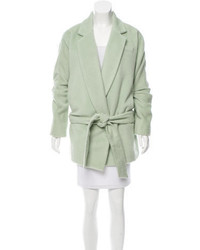 Marc Jacobs Alpaca Wool Blend Short Coat