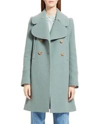 Chloé Chloe Iconic Wool Blend Coat
