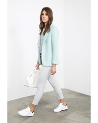 Forever 21 Classic Boucle Coat