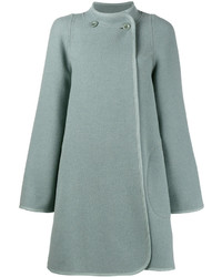 Chloé Collarless A Line Coat