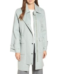 Badgley Mischka Double Face Wool Blend Coat