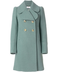 Chloé Oversized Collar Double Breasted Coat