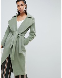 Lavish Alice Short Fur Oversized Lapel Coat