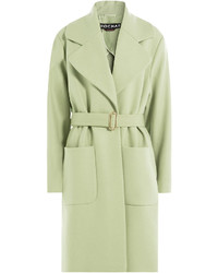 Rochas Wool Coat With Cashmere