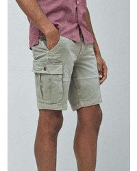 Mango Outlet Cargo Bermuda Shorts