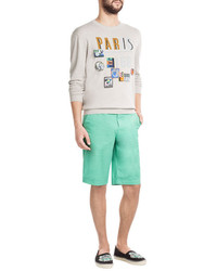 Kenzo Cotton Chino Shorts