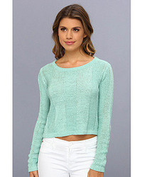 MinkPink Detention Ribbon Knit Jumper