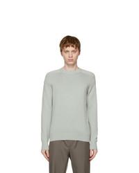 Loro Piana Green Girocollo Warwik Sweater