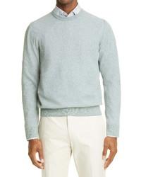 Canali Melange Crewneck Sweater