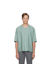 Homme Plissé Issey Miyake Blue Release T1 T Shirt