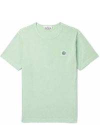 Stone Island Cotton Jersey T Shirt