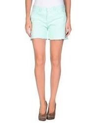 Kitsune Kitsun Tee Denim Shorts