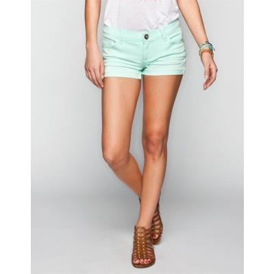 ab4c06055d ... RSQ Malibu Denim Shorts Mint In Sizes 1 11 7 5 9 13 0 3 For