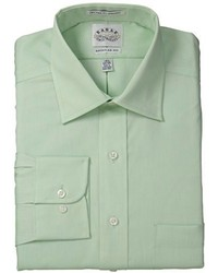 Eagle Non Iron Regular Fit Solid Spread Collar Dress Shirt
