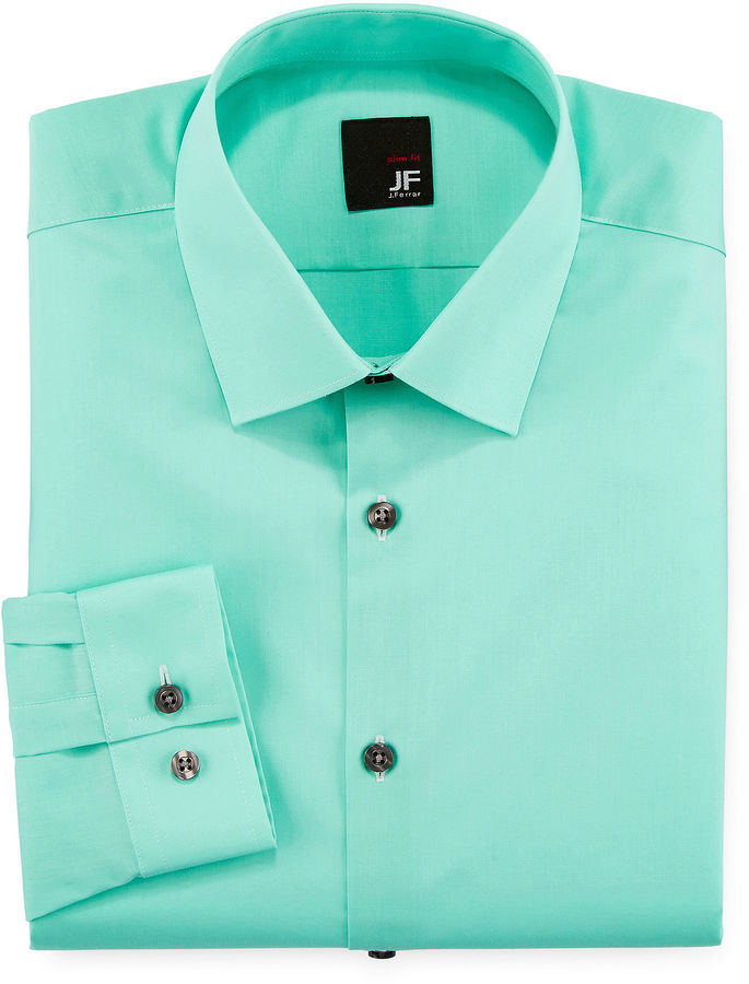 a790179dfd111 ... JF J.Ferrar Jf J Ferrar Slim Fit Easy Care Dress Shirt Big Tall