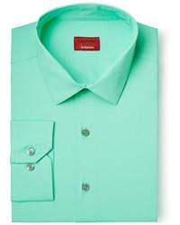 Alfani Slim Fit Stretch Cascade Mint Dress Shirt Only At Macys
