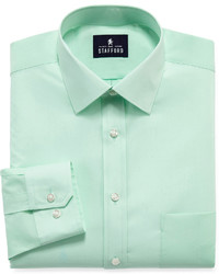 Stafford Stafford Travel Easy Care Broadcloth Dress Shirt