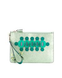 Anya Hindmarch Embellished Clutch Bag