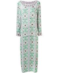 Tory Burch Embellished Trim Maxi Dress