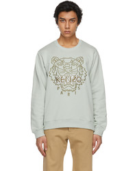 Kenzo Green Classic Tiger Sweatshirt