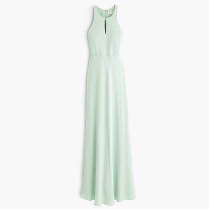 J.Crew Kendall Gown In Drapey Matte Crepe | Where to buy & how to wear