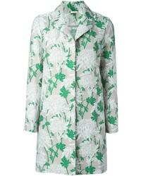 P.A.R.O.S.H. Floral Brocade Coat