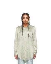 Acne Studios Green Sophi Shirt
