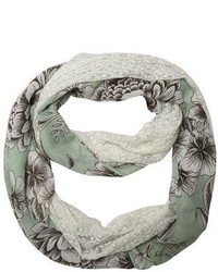 Dorothy Perkins Mint Floral And Lace Snood