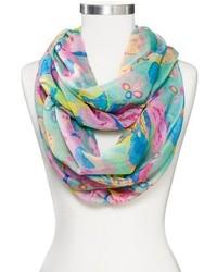 Sylvia alexander sylvia alexander floral print infinity scarf medium 322164