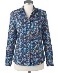 Mint Floral Shirt