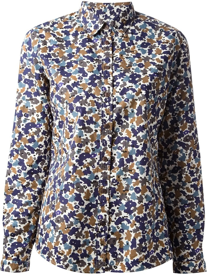 Burberry Brit Floral Print Shirt
