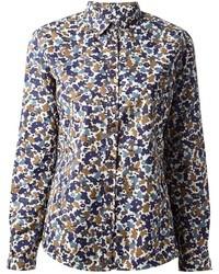 Burberry brit floral print shirt medium 5391