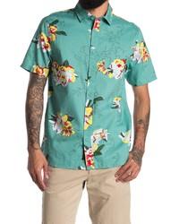 Vans Deacon Floral Short Sleeve Button Up Shirt