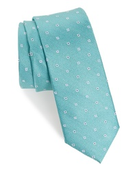 Mint Floral Tie