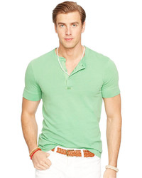Polo Ralph Lauren Short Sleeved Pima Henley