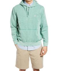 Polo Ralph Lauren Cotton Blend Knit Hoodie