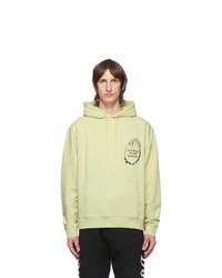 Vyner Articles Green Cod Graphic Hoodie